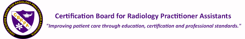 Certification Board for Radiology Practitioner Assistants